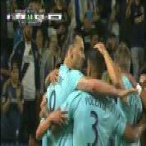 LA Galaxy 1-0 Houston - Zlatan Ibrahimovic (PK) 31'