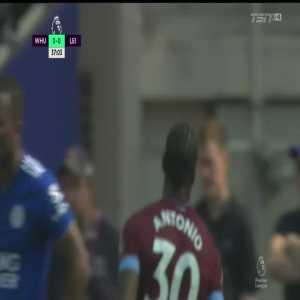 West Ham 1-0 Leicester City: Antonio