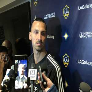 "Zlatan Ibrahimovic after criticizing the VAR decision on Houston's goal in the Galaxy's 2-1 win: ""Maybe the MLS will punish me, but I am the MLS, so don't worry about it."""