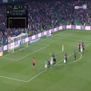 Betis [1]-2 Valencia - Giovani Lo Celso penalty 78'