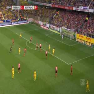 Freiburg 0-2 Dortmund - Marco Reus 54'