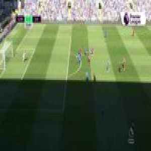 Roberto Firmino missed chance vs Cardiff