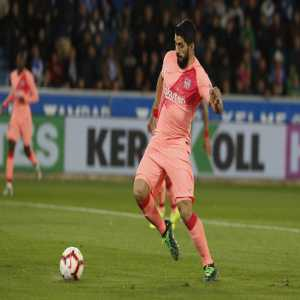 Luis Suarez has equalled Ladislao Kubala as FC Barcelona's third highest scorer in the history of LaLiga