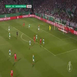 Bremen 0-1 Bayern - Robert Lewandowski 36'
