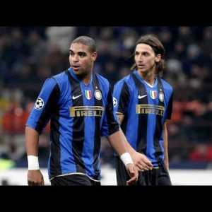 Over 10 yrs ago, Zlatan partnered up front with Adriano for the Milan Derby