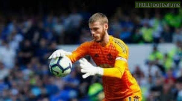I wish my life were as easy as De Gea's.   I do 9 things out of 10 right at work but i am only remembered by the 1 mistake i did.   De Gea has 5 terrible, 4 average and 1 good game out of 10, and gets praised by that 1 good thing he did.
