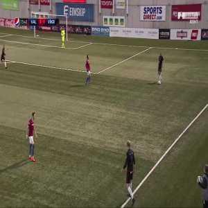 Great goal from the opening match in the Icelandic Úrvalsdeild. Valur 1 - Víkingur Reykjavík [2] - Logi Tómasson '74