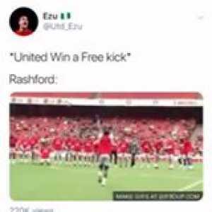 Rashford perfectly summed up.