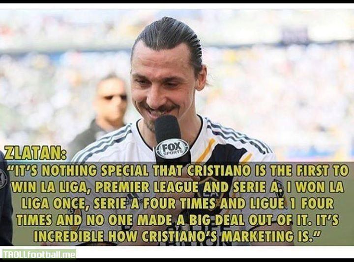 Zlatan makes a very good point 🤔