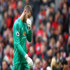 3 - David de Gea has made three errors leading to goals in his last four games in all competitions for Manchester United - as many as in his previous 123 matches combined for the Red Devils.