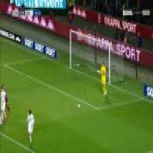 Clever free-kick routine by Torino vs AC Milan