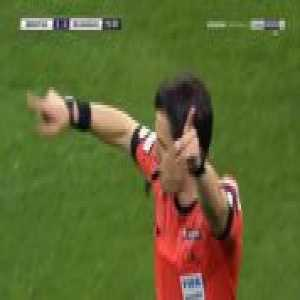 Loris Karius (Besiktas) penalty save against Ankaragucu overtunerd after VAR review
