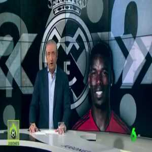 [Jose Alvarez] Paul Pogba wants to leave United and has only one option in his mind, Real Madrid.