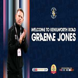 Graeme Jones will be Luton Town's new manager, starting at the beginning of next season