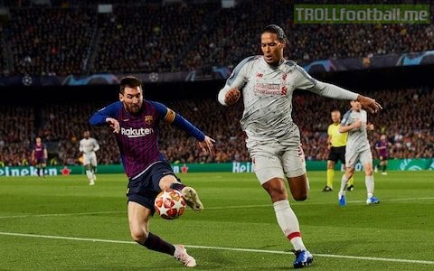 """✅VVD on Messi, """"When you come up against Messi and he produces his best form you can't do anything.  ✅""""I'm grateful that I'm not in Spain and I don't have to face him every season.  ✅""""He scored two goals and I leave very disappointed. He won the battle but not the war."""""""