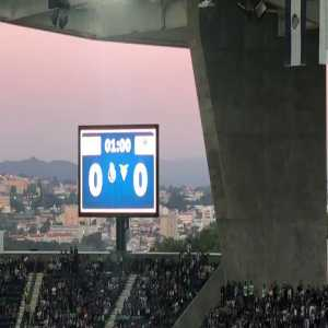 FC Porto's tribute to Iker Casillas on the 1st minute of their game against Aves tonight