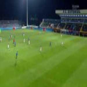 Andreas Calcan superb goal for Viitorul vs. OSK Sepsi | Liga1 Romania - Play-Off