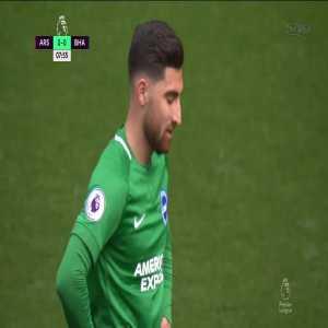 Arsenal 1-0 Brighton: Aubameyang PK + Foul