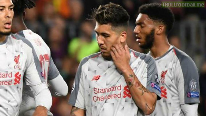 Official: Firmino wiil miss the second leg and Dembele might probably miss the entire season if it is known to be a muscle tear according to Valverde!!   Huge blows to both sides with Salah's condition still unknown