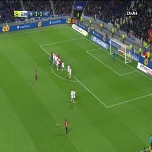 Olympique Lyonnais 1-[2] Lille OSC - B. Soumaré 68'