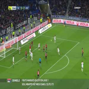 Olympique Lyonnais [2]-2 Lille OSC - L. Dubois 74'