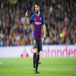 """Luis Suarez: """"We know the difficulty of playing in a stadium with so much history, we come here with a good result, but we have to have a lot of respect for Liverpool, we'll have to be very careful"""""""