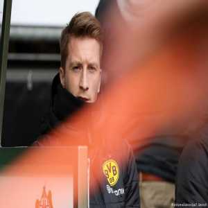 Marco Reus could be fined… for sitting next to Borussia Dortmund's bench against Werder Bremen while suspended. Reports in Germany suggest a DFB investigation is underway.