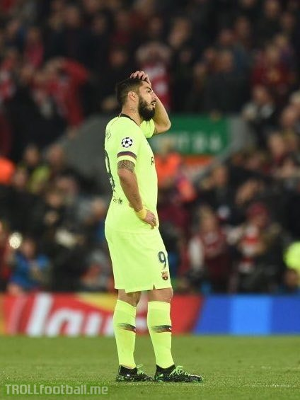 Massive respect to Luis Suarez, he said he would not celebrate at Anfield and he didn't. A man of his word 👏👏