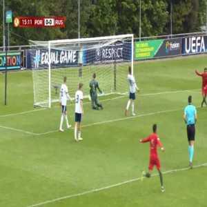 Portugal U17 1-0 Russia U17 - Gonçalo Marques 16'