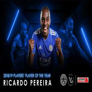 Ricardo Pereira has been voted by his team-mates as the 2018/19 Leicester City Players' Player of the Season