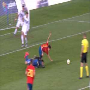 Spain U17 1-0 Germany U17 - Pablo Moreno (penalty) 79'