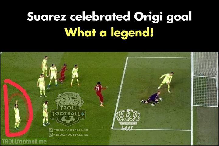 Luis Suarez, Huge Respect!🙌👏