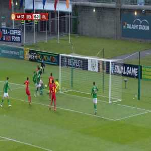Ireland U17 0-1 Belgium U17 - Chris Kalulika 64'