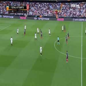 Valencia 1-[1] Arsenal [2-4 on agg.] - Pierre-Emerick Aubameyang 17'