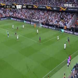 Valencia 2-[3] Arsenal [3-6 on agg.] - Pierre-Emerick Aubameyang 69'