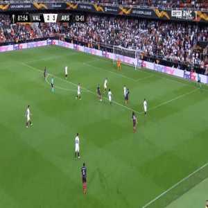 Valencia 2-[4] Arsenal [3-7 on agg.] - Pierre-Emerick Aubameyang 88'