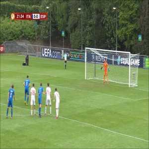 Italy U17 1-0 Spain U17 - Lorenzo Colombo (pen) 22'
