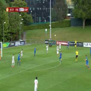 Italy U17 [3]-1 Spain U17 - Lorenzo Pirola 66'