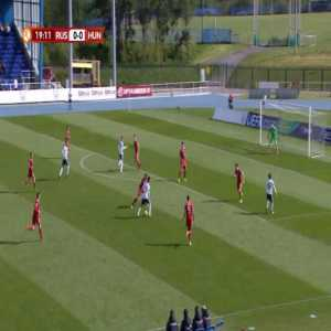 Russia U17 1-0 Hungary U17 - Egor Shapovalov 20'