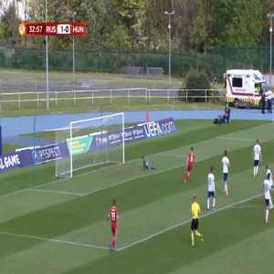 Russia U17 1-[1] Hungary U17 - Andras Nemeth 33'