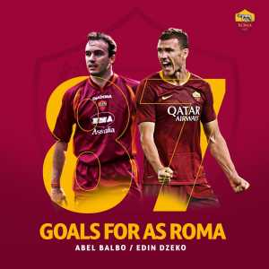After scoring against Juventus today, Edin Dzeko has become the 7th all time top scorer for AS Roma