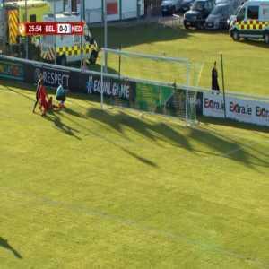 Belgium U17 0-1 Netherlands U17 - Sontje Hansen 27'