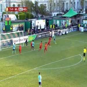 Belgium U17 0-3 Netherlands U17 - Ki-Jana Hoever 74'