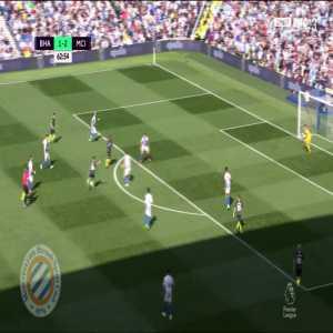 Brighton 1-[3] Manchester City : Mahrez 64'