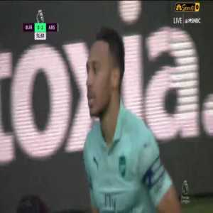 Burnley 0-1 Arsenal : Aubameyang Goal