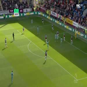 Burnley 0-2 Arsenal - Pierre-Emerick Aubameyang 63'