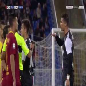 "Cristiano Ronaldo to Florenzi:""You are too short to talk."""