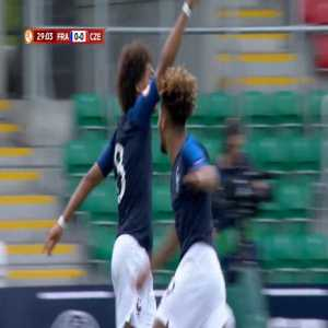 Enzo Millot (Monaco & France) wins the U17 EURO Goal of the Tournament for this chip vs. Czech Republic