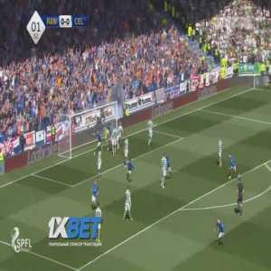 Rangers 1-0 Celtic - James Tavernier 2'