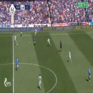 Rangers 2-0 Celtic - Scott Arfield 63'
